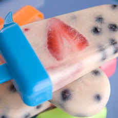 Red, White & Blue Iced Tea Pops
