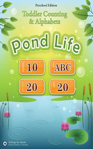 Toddler ABCs 123s Pond Life
