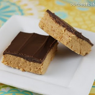 No Bake Reece's Peanut Butter Bars