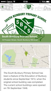 South Bunbury Primary School - screenshot