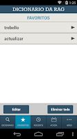 Screenshot of Dicionario RAG