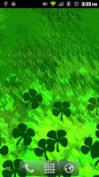 Screenshot of St Patrick's Day Shamrocks LWP
