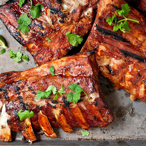 Margarita Glazed Baby Back Ribs