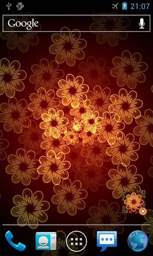 ネオンの花Pro版ライブ壁紙 Neon Flower