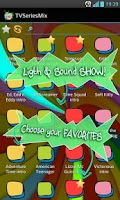 Screenshot of TV Series Mix SoundBoard