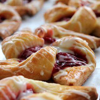 Cherry Pinwheel Pastries