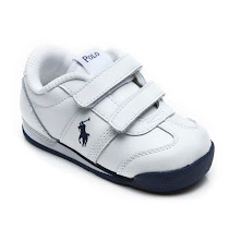 Ralph Lauren Double Strap Branded Trainer TRAINER