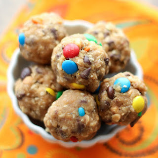 Monster Cookie Dough Bites {naturally gluten free recipe}