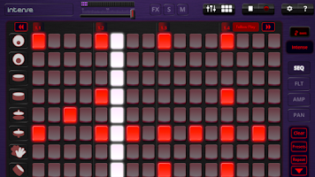 Screenshot of Oscilab Pro -  Loop Sequencer