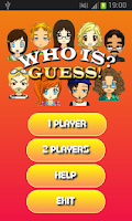 Screenshot of Who is? Guess!