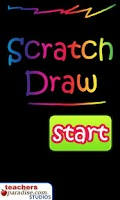 Screenshot of Scratch Draw Art Game