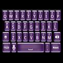 Plastic Purple Keyboard Skin icon