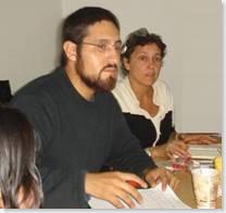 Filiberto Malagón y Francesca Gargallo