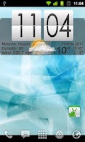 Screenshot of Live Wallpaper Flip Clock