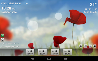 Screenshot of 9s-Weather HD