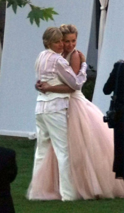 Ellen DeGeneres Portia de Rossi wedding photos