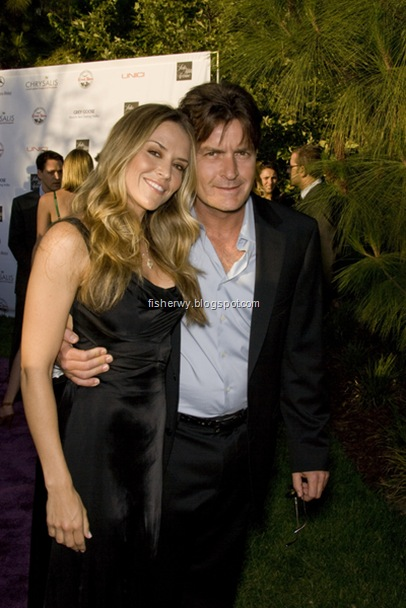 Photo of brooker mueller and charlie Sheen