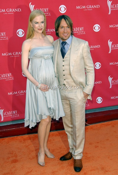 Photo of Nicole Kidman Keith Urban at 43rd Academy of Country Music Awards