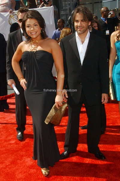 Photo of Rachael Ray and husband John Cusimano attending  35th Annual Daytime EMMY Awards