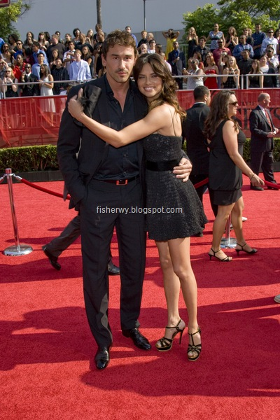 Picture of Adriana Lima and boyfriend Marko Jaric attending 2008 ESPY awards