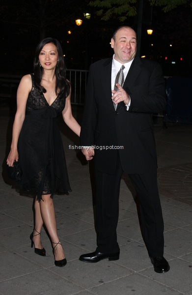 Deborah Lin James Gandolfini attended Vanity Fair Party on the 7th Annual Tribeca Film Festival  at State Supreme Courthouse,on April 22, 2008.