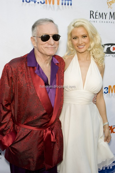 Hugh Hefner and Holly Madison picture