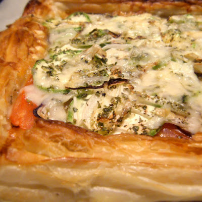 Vegetable Puff Pastry Tart