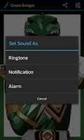 Screenshot of Green Ranger