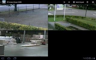 Screenshot of IP Camera Viewer ELRO