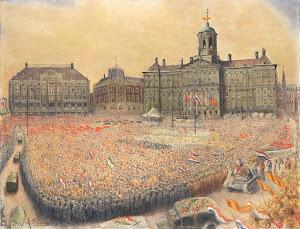 RIJKS: Jan Gregoire: painting 1945
