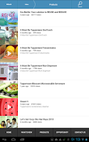 Screenshot of Tupperware Brands Malaysia