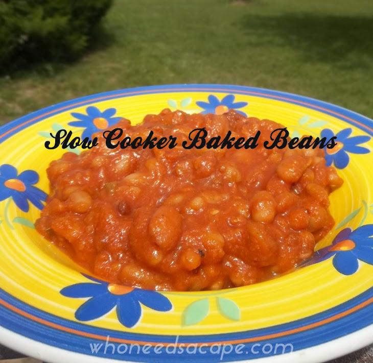 Crock Pot Baked Beans Recept | Yummly