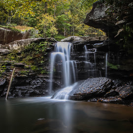 Mill Creek by Brittany Ritchea - Landscapes Waterscapes