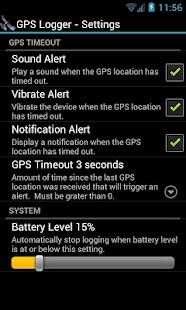 GPS Logger - screenshot