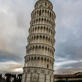 by Stuart Byles - Buildings & Architecture Public & Historical ( leaning, tower, florence, pisa, medieval, italy, city )