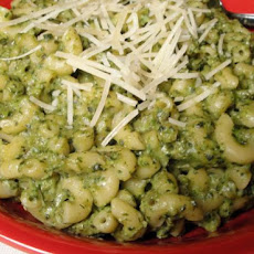 Heart Healthy Lima Bean Pesto & Pasta
