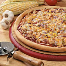 Barbecued Turkey Pizza