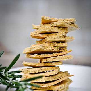 Rustic Rosemary Herb Crackers