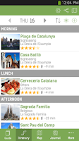 Screenshot of Barcelona Travel Guide – mTrip