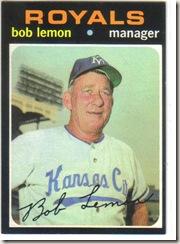 '71 Bob Lemon