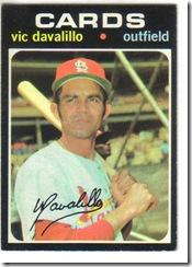 '71 Vic Davalillo