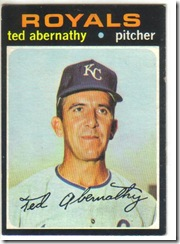 '71 Ted Abernathy