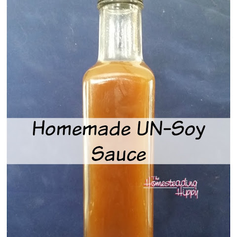 Homemade Soy Sauce