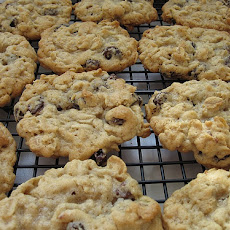 Soft Batch Oatmeal Raisin Cookies