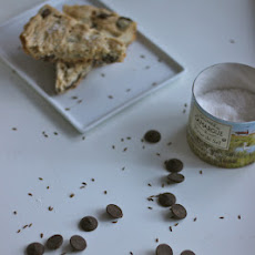 Caraway-Dark Chocolate-Sea Salt Shortbread