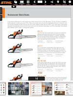 Screenshot of STIHL Outdoor Power Equipment