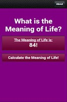 Screenshot of What is the Meaning of Life?