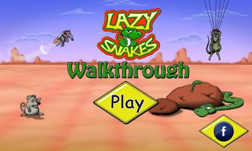 Lazy Snakes Walkthrough