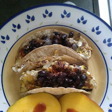 Totally Tasty Tortillas with Cream Cheese & Eggs