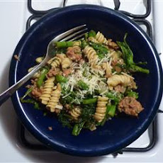 Chorizo and Broccoli Rabe Pasta